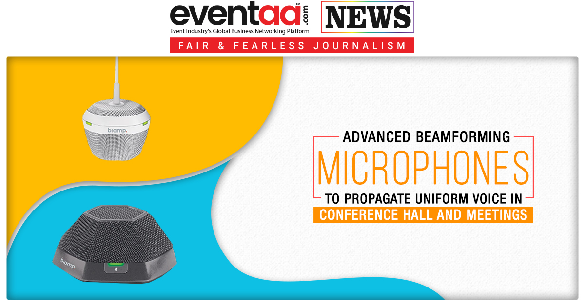 Advanced Beamforming Microphones to Propagate Uniform Voice in Conference Hall and Meetings